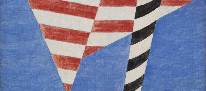 Mastro de Alfredo Volpi em exposição na Tefaf Maastricht Foto: Tefaf